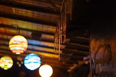 Ice and lights (Baubec Izzet) Tags: baubecizzet nightlight lights bokeh ice winter christmas