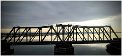 2019/016: Long Bridge and Calm River (Rex Block) Tags: potomac river bridge calm sky washington dc rs988 railroad skies glassy longbridge truss project365 365the2019edition 3652019 day16365 16jan19