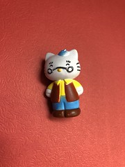 Hello Kitty's dad or grandpa? #cute #sanrio #hk #hellokitty #savers (direngrey037) Tags: cute sanrio hk hellokitty savers