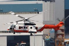 HKGFS Super Puma B-HRN (EddieWongF14) Tags: hongkonggovernmentflyingservice governmentflyingservice hkgfs gfs eurocopter eurocopteras332 as332 as332l2 superpuma bhrn hkg vhhh hongkonginternationalairport shalowan