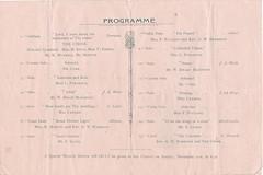 ASH2-043b Concert Programme, Wesleyan Church, Ashford, 4th December 1919 (audinary_music) Tags: ashford kent church
