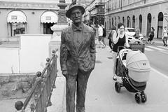 Trieste (Epsilon68 - Street and Travel Photography) Tags: fujixt2 italy friuliveneziagiuglia travel urban street stphotographia streetlevelphoto bw blackwhite blackandwhite