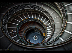 Round and Round - Vatican Museum Staircase (Sam Antonio Photography) Tags: staircase architecture museum travel vatican spiral old italy rome landmark round tourism interior stairs europe design famous exit circle pattern winding people climbing urban perspective structure steps renaissance climb ascend curve descending stairwell giuseppemomo tourist swirl baroque ancientrome vacations holidays geometrical