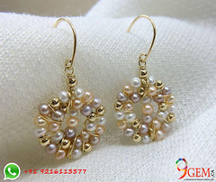 Look gorgeous by wearing Pearl Earrings (9gemcanada) Tags: luxury fashion beautiful attractive natural pearl gemstone fashionable moti