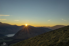 Buttermere Sunrise... (CamraMan.) Tags: buttermere sunrise canon1740mmlusm sonya7 fotodiox cumbria lakedistrict wildcamping sunburst ©davidliddle ©camraman