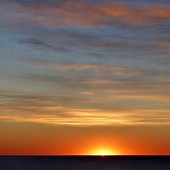 sunrise (fotomie2009) Tags: balcorama cielo sky clouds nuvole sunrise alba albeggiare dawn sun sole sea mare