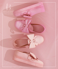 [BREATHE]-Miniso Sneakers@Soiree ([Breathe]) Tags: breathe maitreya belleza slink soiree secondlife mesh bow sneakers leather girly playgirl sport