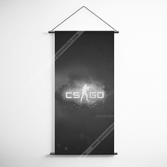 CSGO 32 Counter Strike Global Offensive Logo Decorative Banner Flag for Gamers (gamewallart) Tags: background banner billboard blank business concept concrete design empty gallery marketing mock mockup poster template up wall vertical canvas white blue hanging clear display media sign commercial publicity board advertising space message wood texture textured material wallpaper abstract grunge pattern nobody panel structure surface textur print row ad interior