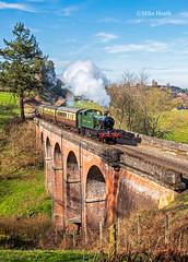 4144 - Severn Valley Railway - 20 March 2019-18 (Mike Heath Photo) Tags: svr severn valley railway gwr great western didcot centre drc 4144 prairie large tank engine england uk steam locomotive train 30742 charter matt fielding