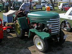 Homebuilt Kleinschlepper (Schwanzus_Longus) Tags: stasfurt stassfurt german germany east ddr gdr old classic vintage small tiny micro tractor tug green kleinschlepper bma brandis dfz 632 homebuilt self made