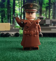 General of the Army Dwight Eisenhower, Supreme Commander of the Allied Expeditionary Forces in Europe (brickhistorian) Tags: war world ww2 general germany france north africa allies brick bricks moc minifig minifigure military lego legos eisenhower history america custom customs commander dday europe fig forces landing landings normandy western front