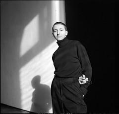 Ксения (Natasha Buzina) Tags: portrait mediumformat femininity studio pentaconsix film ilford bw blackandwhite портрет пленка студия