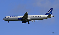 Airbus A321 ~ OH-LZE  Finnair (Aero.passion DBC-1) Tags: spotting cdg 2009 airbus a321 ~ ohlze finnair