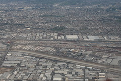 Commerce, CA Union Pacific East Los Angeles Intermodal Facility Pic 2 (atucker2976) Tags: n8503a boeing7378h4wl southwestflight3300 kmsyklax neworleanslosangeles msylax triptocaliforniaspringbreakmarch2019 commercecalifornia