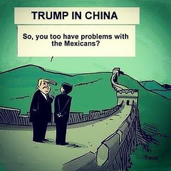(nic0v0dka) Tags: cartoon humour humor trump