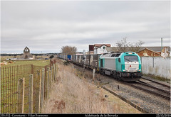 Ikea Aldehuela (Trenes2000) Tags: trenes tren transfesa 335 335012 megacombi ikea iber laagrss combi vossloh diesel constanti vilar alfarelos aldehuela boveda trenes2000 estacion