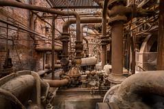 Industrial Revolution Steam Power (Sloss Furnace) (jeff_a_goldberg) Tags: blastfurnace pigiron iron slossfurnaces alabama nationalhistoriclandmark redclaytours industrialrevolution birmingham unitedstatesofamerica us