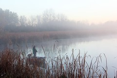 010 (wonderland_51) Tags: misty foggy damp rainy morning dawn lake pond river fishing fish lone alone solitary solitude peaceful quiet