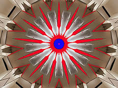 Full Development (Kombizz) Tags: c413 kombizz kaleidoscope experimentalart experimentalphotoart photoart epa samsung samsunggalaxy fx abstract pattern art artwork geometricart red brown blue white fulldevelopment