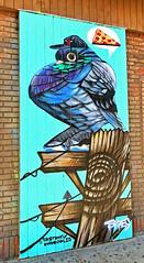 Cheap Pizza by Danny Torres (wiredforlego) Tags: graffiti mural streetart urbanart aerosolart publicart chicago illinois ord dannytorres sketchfix chronicles