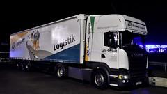 D - Hess Getränke Scania R13 450 TL (BonsaiTruck) Tags: hess getränke scania nacht night nuit lkw lastwagen lastzug truck trucks lorry lorries camion caminhoes