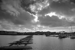 Stormy clouds over Preston docks (Tony Worrall) Tags: weather storm stormy cotton scene sky white grey skies grim harsh preston lancs lancashire city welovethenorth nw northwest north update place location uk england visit area attraction open stream tour country item greatbritain britain english british gb capture buy stock sell sale outside outdoors caught photo shoot shot picture captured ilobsterit instragram photosofpreston ashtononribble ashton cloud cloudy
