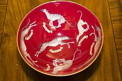 Long Dogs Galore 11/52 (rmrayner) Tags: loveoflongdogs lurchers art decoupage bowl dogs weeklytheme 52weeksthe2019edition repetition 1152