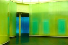 Nella sala vuota, improvvisazioni... (stefano.chiarato) Tags: mudec milano lombardia italy sala museo colori architettura architecture geometria