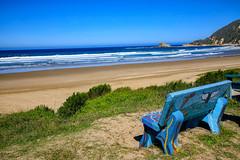 Bench with a sea view (Johann (Still Me!)) Tags: bench sea seascape beach hbm happybenchmonday johanndejager ef24105mmf4lisiiusm canoneos5dmarkiv
