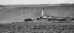 Scotland West Highlands Argyll the lighthouses on Pladda island 1 July 2018 by Anne MacKay (Anne MacKay images of interest & wonder) Tags: scotland west highlands argyll lighthouse lighthouses pladda island sea cost monochrome blackandwhite mountain landscape 1 july 2018 picture by anne mackay