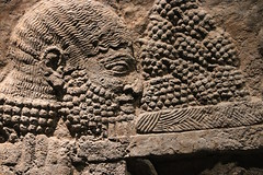 Preparing a Feast (Detail) (calmeilles) Tags: london england unitedkingdom ashurbanipal britishmuseum middleeast nineveh