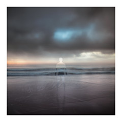 Silent (picturedevon.co.uk) Tags: absract fineart dawlishwarren teignbridge devon uk beach seascape le icm sky water sea waves clouds weather sun sunrise light blue orange sand coast outside canon wwwpicturedevoncouk