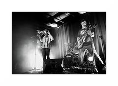 Wichita, le groupe (Punkrocker*) Tags: nikon d700 digital 28mm 2828 ais nikkor lr5 bw bnw fullframe rock music band stage concert guitar wichitalegroupe