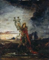 Gustave Moreau - Arion 1891 (retrofolie) Tags: symbolisme mythe flot harpe sauver poete musicien xixemexixexix19eme19e19siecle mouvementsymboliste ciel orage orageux paysage sinistre lugubre