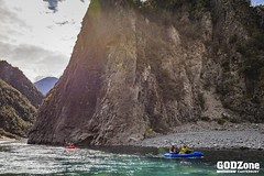 Packrafting the Waimakariri Gorge