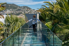 Sue, Roof of the Museum of Modern and Contemporary Art, MAMAC, Nice (Peter Cook UK) Tags: glass art south mamac dazur cote modern walkway france roof contemporary gallery 2019 nice museum