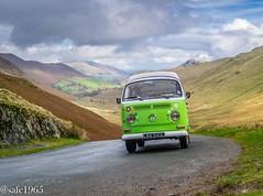 VW Camper , Lake District (safc1965) Tags: volkswagen camper van lake lakedistrict scenery vans drive cumbria lma340l