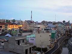 Dalat Vietnam (Paul Woolley Compact Snaps) Tags: dalat vietnam urban dusk life