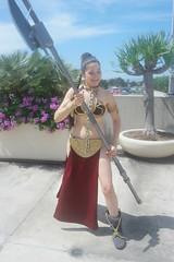 SDCC 2018 - 1806 (Photography by J Krolak) Tags: cosplay costume masquerade comicconvention sdcc2018 leiasmetalbikini slaveleia princessleia starwars leia