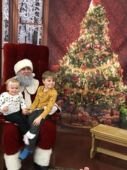 "Dani and Paul with Santa • <a style=""font-size:0.8em;"" href=""http://www.flickr.com/photos/109120354@N07/45527272455/"" target=""_blank"">View on Flickr</a>"