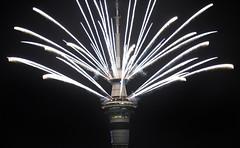 Happy New Year (Peter Jennings 32 Million+ views) Tags: happy new year 2019 auckland zealand peter jennings nz sky tower city