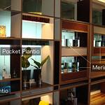 植物インターフェイスと栽培メディアの写真