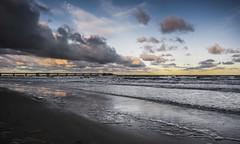 Banded clouds (bavare51) Tags: ostsee strand wolken clouds sky wasser sand brandung licht natur landschaft