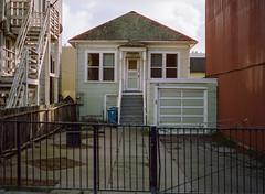 Sunset District // San Francisco (bior) Tags: pentax645nii pentax645 pentax 645 mediumformat 120 cinestill50d cinestill sanfrancisco sunsetdistrict house home fence yard