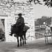 Man on a donkey, Apieranthos, Naxos (1986)
