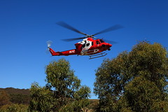 Help Has Arrived (Darren Schiller) Tags: accident emergency chopper southaustralia aviation ambulance community rescue helicopter mac