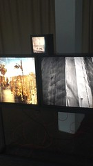 """Nora Adwan: """"Speaking Signs"""" (svennevenn) Tags: lydgalleriet bergen utstillinger exhibitions noraadwan soundart lydkunst"""