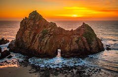 Nikon D850! Big Sur Sea Cave Sunset Fine Art California Coast Beach Landscape Seascape Photography! Nikon D850 & AF-S NIKKOR 28-300mm f/3.5-5.6G ED VR from Nikon! High Res 4k 8K Photography! Elliot McGucken Fine Art Pacific Ocean Sunset! (45SURF Hero's Odyssey Mythology Landscapes & Godde) Tags: nikon d850 big sur sea cave sunset fine art california coast beach landscape seascape photography afs nikkor 28300mm f3556g ed vr from high res 4k 8k elliot mcgucken pacific ocean