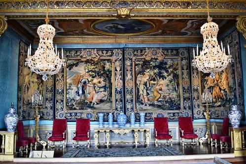 Salón de las Musas del palacio (Maincy)