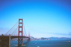 to SF with love (igo.rs) Tags: bridge suspension harbor california architecture water sky sea travel san francisco ocean